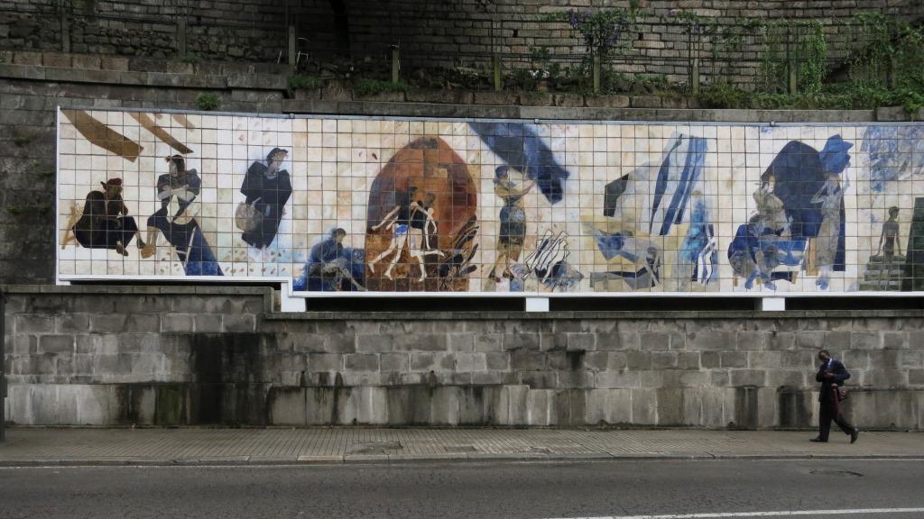 Painel de Azulejos Ribeira Negra