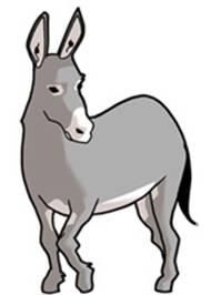 O burro do aldeão