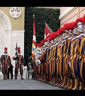 Guarda Suíça e o Vaticano